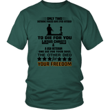 To Die For You Veteran Tee Shirts #1 - The Shoppers Outlet