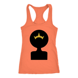 Afro Shadow Queen Racerback Tank Tops (12 Colors) - The Shoppers Outlet