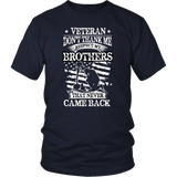 Don't Thank Me Veteran Tee Shirts (8 Colors) - The Shoppers Outlet