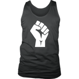 Black Power Fist Tank Tops (5 Colors) - The Shoppers Outlet