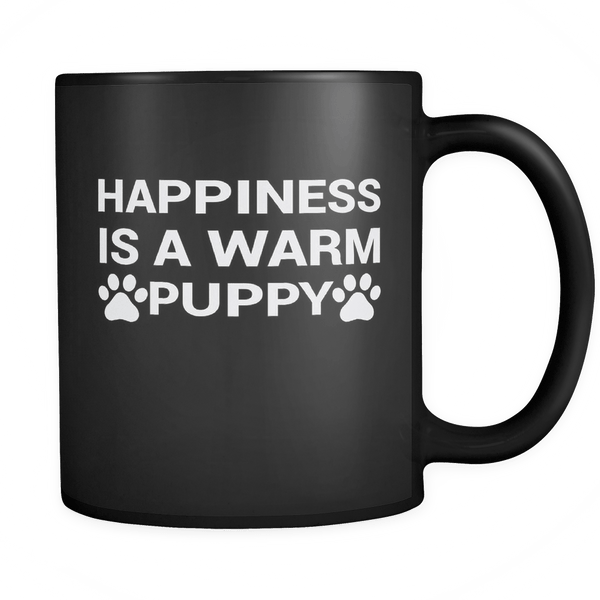 Black Puppy Mug - The Shoppers Outlet