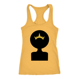 Afro Shadow Queen Racerback Tank Tops - The Shoppers Outlet