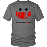 I'm Smiling Tee Shirts (9 Colors) - The Shoppers Outlet