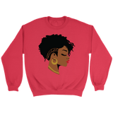 Natural Hair Beauty Crewneck Sweatshirts - The Shoppers Outlet