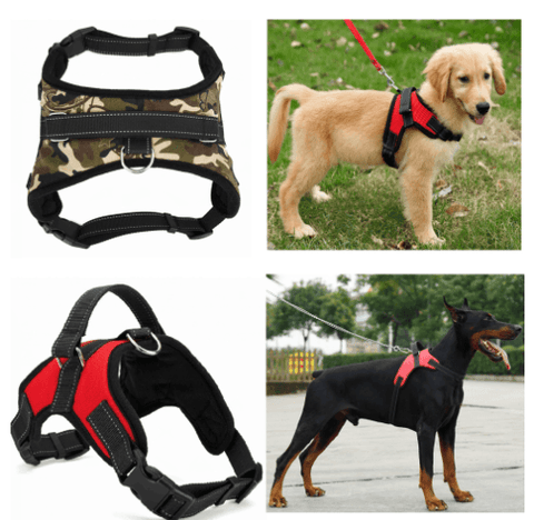 Heavy Duty Nylon Adjustable Dog Harness - The Shoppers Outlet