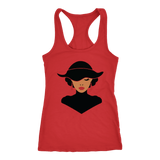 Classic African American Woman Racerback Tank Tops (11 Colors) - The Shoppers Outlet