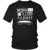 Psalm 119:105 Tee Shirts (8 Colors) - The Shoppers Outlet