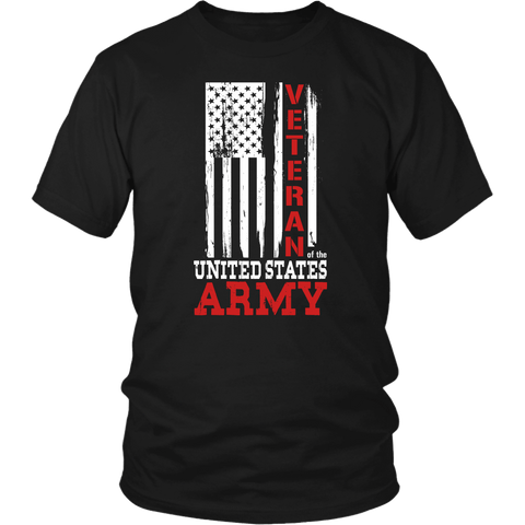 Army Veteran Tee Shirts (6 Colors) - The Shoppers Outlet