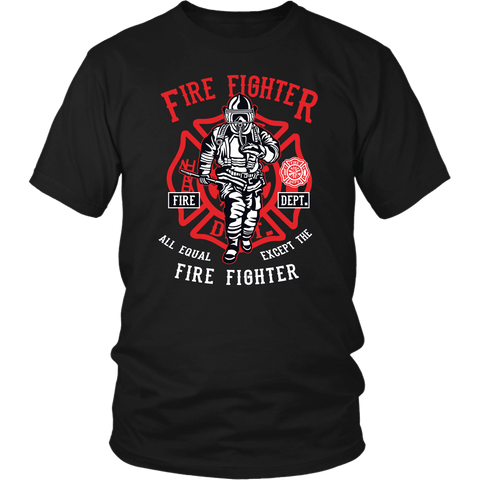 Fire Fighter Tee Shirt - The Shoppers Outlet