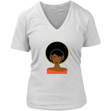 Music Love V-Neck Tee Shirts - The Shoppers Outlet
