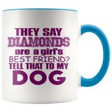 Tell That To My Dog Mugs (7 Colors) - The Shoppers Outlet