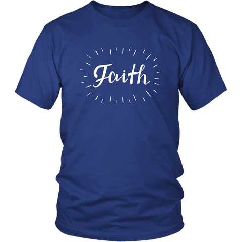 Faith Tee Shirts (8 Colors) - The Shoppers Outlet