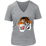 Sumatran Tiger V-Neck Tee Shirts (8 Colors) - The Shoppers Outlet