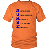 Nurse Tee Shirts (6 Colors) - The Shoppers Outlet