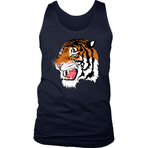Sumatran Tiger Men Tank Tops - The Shoppers Outlet