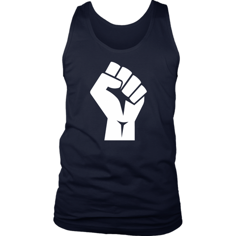 Black Power Fist Tank Tops - The Shoppers Outlet