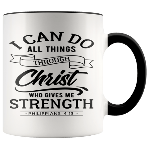 Philippians 4:13 Mugs (7 Colors) - The Shoppers Outlet