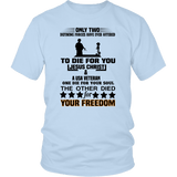 To Die For You Veteran Tee Shirts #1 (9 Colors) - The Shoppers Outlet
