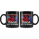Patriotic - Veteran Mug For Your Papa - The Shoppers Outlet