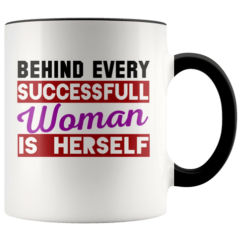 Fun - Successful Woman Mug (7 Colors) - The Shoppers Outlet