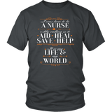I Was Born To Be A Nurse Tee Shirts - The Shoppers Outlet