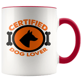 Certified Dog Lover Mugs - The Shoppers Outlet