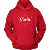 Faith Print Hoodies - The Shoppers Outlet