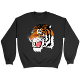 Sumatran Tiger Crewneck Sweatshirts - The Shoppers Outlet