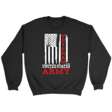 US Army Veteran Flag Crewneck Sweatshirts - The Shoppers Outlet