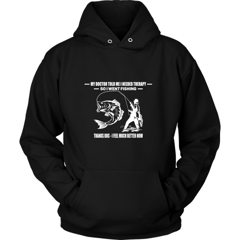 Fishing Therapy Hoodies - The Shoppers Outlet