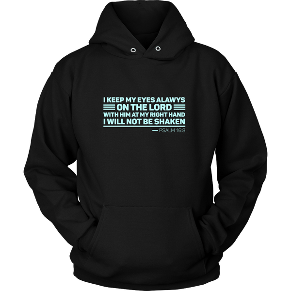 PSALM 16:8 Hoodie Collection - The Shoppers Outlet