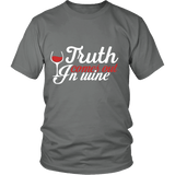 Wine and Truth Shirts (6 Colors) - The Shoppers Outlet