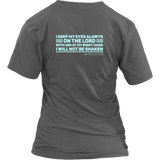 PSALM 16:8 Shirts - The Shoppers Outlet