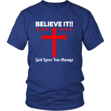 Believe It T-Shirts - The Shoppers Outlet
