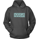 PSALM 16:8 Hoodies (10 Colors) - The Shoppers Outlet
