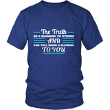 The Truth Blessing Tee Shirts (7 Colors) - The Shoppers Outlet
