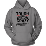 Tough Enough To Be A Nurse Hoodies - The Shoppers Outlet