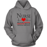Nurse Job Title Hoodies - The Shoppers Outlet