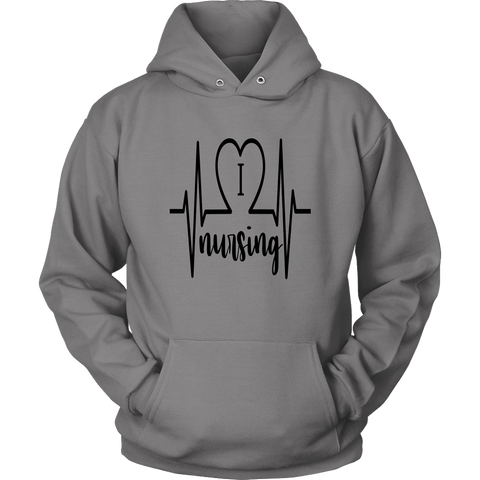 I Love Nursing Hoodies - The Shoppers Outlet