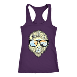 Hip Lion in Shades Racerback Tank Tops - The Shoppers Outlet