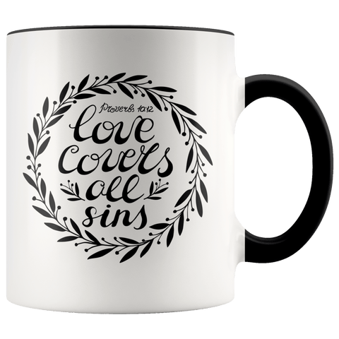 Proverbs 10:12 Mug (7 Colors) - The Shoppers Outlet