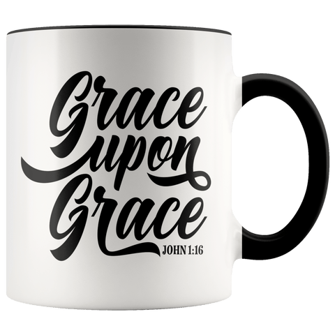 John 1:16 Mugs (7 Colors) - The Shoppers Outlet