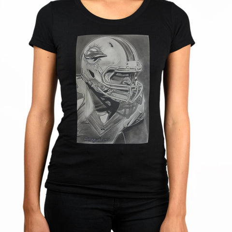 Ernie Banks Womens T-Shirt