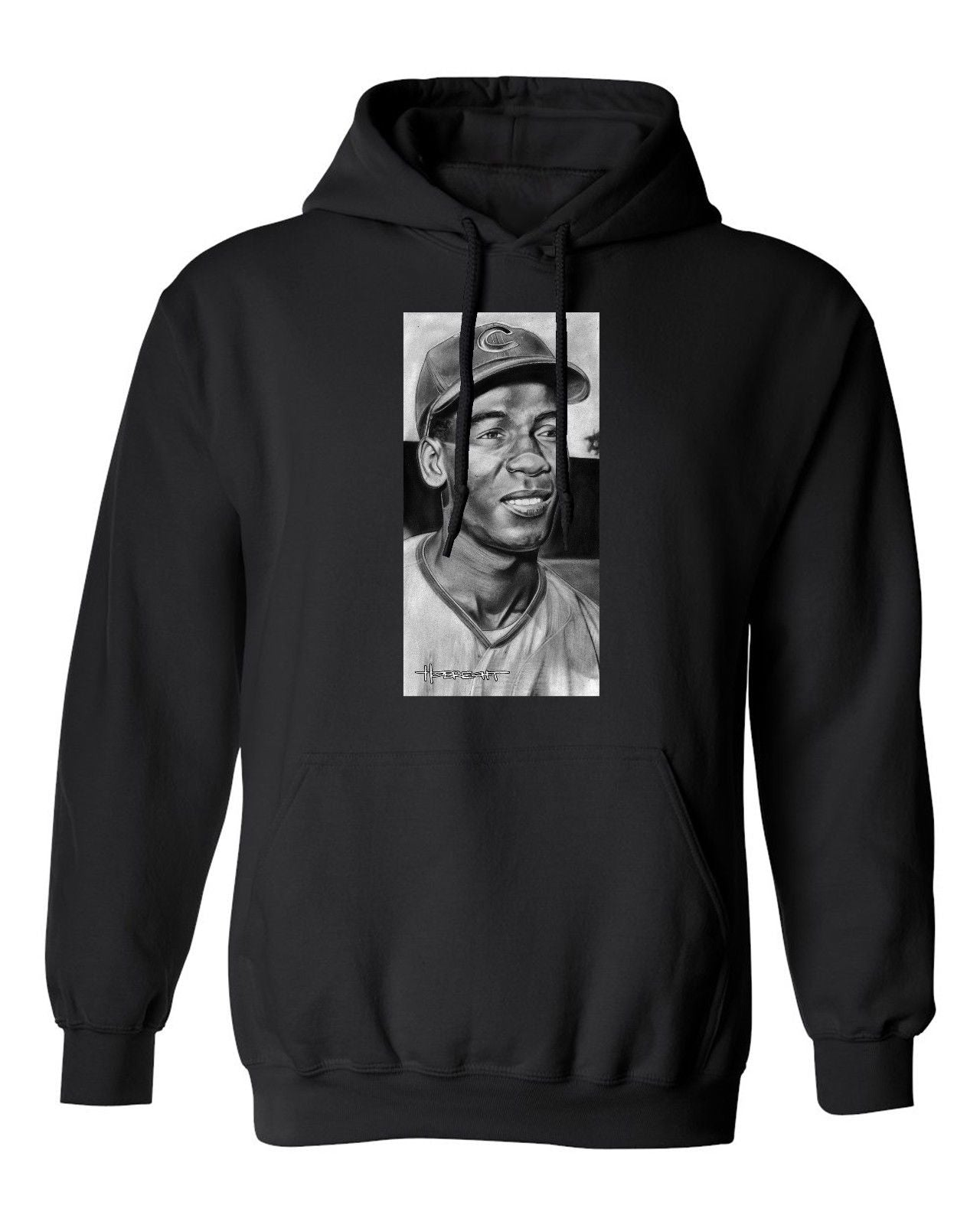 Ernie Banks Chicago Cubs Men's Hoodie Sweatshirt