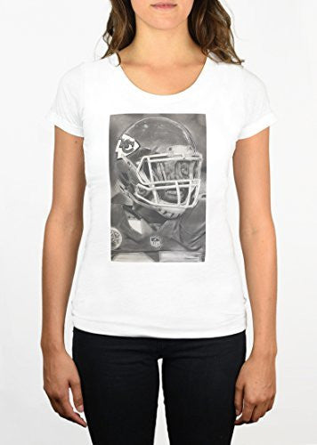 Kansas City Chiefs Helmet Womens T-Shirt