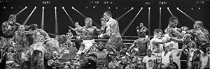 Load image into Gallery viewer, Floyd Mayweather TBE Montage Print