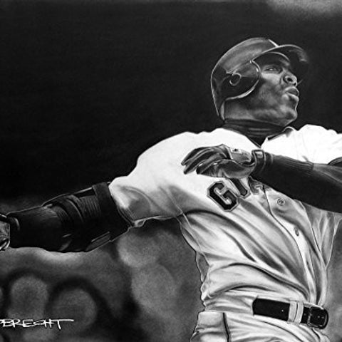 Barry Bonds Print