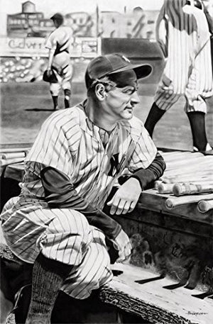 Load image into Gallery viewer, Lou Gehrig Print