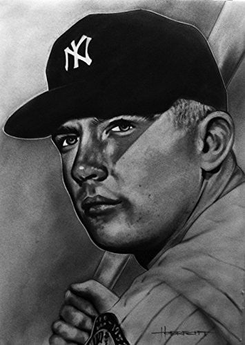 Mickey Mantle Print