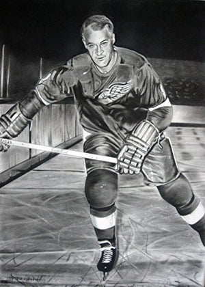 Load image into Gallery viewer, Gordie Howe 2 Print